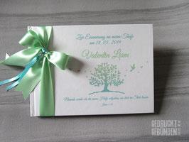 Gästebuch Baum Taube Herzen
