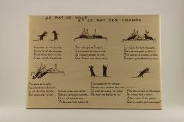 Le Rat de ville et le Rat des Champs de Jean de la Fontaine