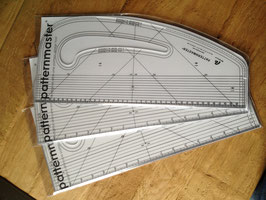 Schnittmuster Lineal / Pattern Cutting ruler