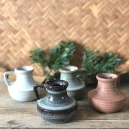 Lot de 4 minis vases