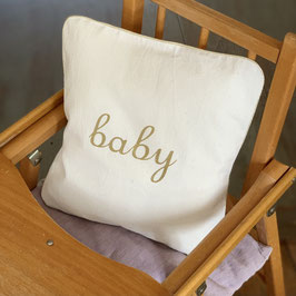 "Coussin ""Baby"", naturel"