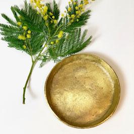 Coupelle en métal doré