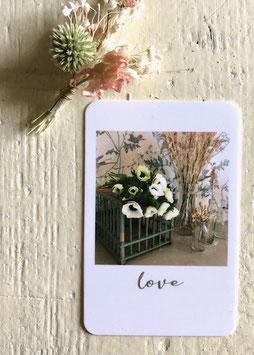 Mini carte LOVE