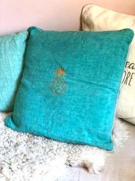 Coussin Ananas, feuillage