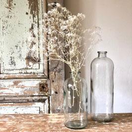 Vase transparent haut