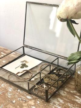 Moyenne boîte à bijoux vitrine
