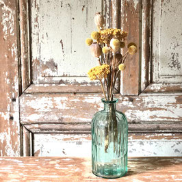 Petit Vase cotélé vert
