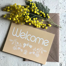 Carte postale WELCOME YOU