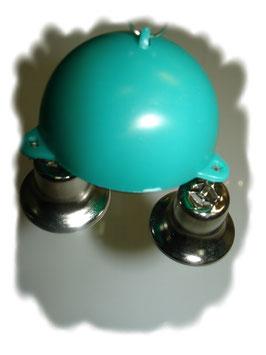 Vogel Spielzeug Glockenspiel Halbkugel mit 3 Glocken