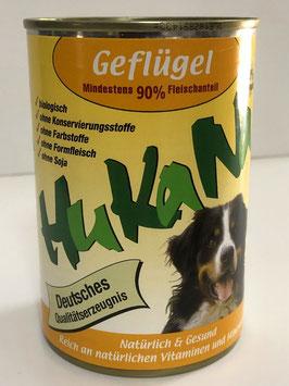 Hukana Geflügel 410g Mind. 90% Fleischanteil