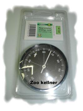 Hygrometer analog ; rund