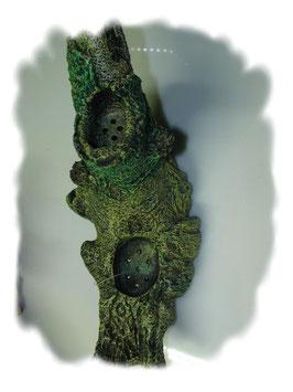 Baumstamm 23,0 cm lang mit Pflanzmulden