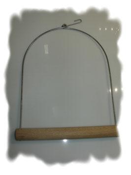 Papageien - Schaukel 21 x 28 cm