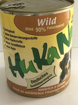 Hukana Wild 820g Mind. 90% Fleischanteil