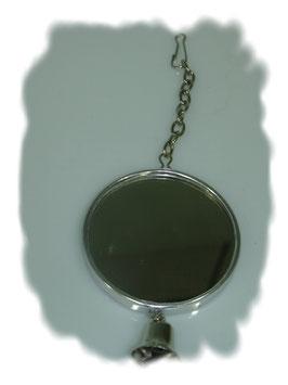 Spiegel Chrom mit Glocke