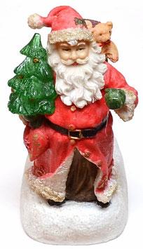 Solar-Led-Figur Weihnachtsmann für Innen. und Außenanwendung Deko Beleuchtung