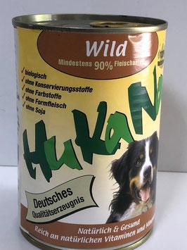 Hukana Wild 410g Mind. 90% Fleischanteil