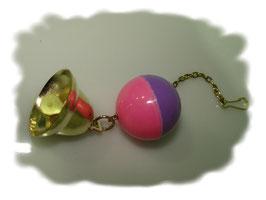 Ball mit Glocke 13 cm