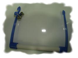 Schaukel Kunstoff  mit Glöckchen 12 cm