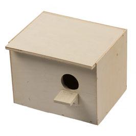 Nest-kiste Sittich Horizontal 20cmx19x15cm