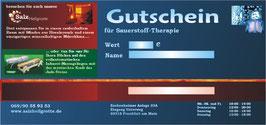 Sauerstoff Therapie 30 min Inkl.Lichttherapie