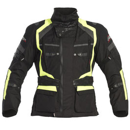 RST RST Pro Series Paragon 4 Textile Jacket - Black / Flo Yellow