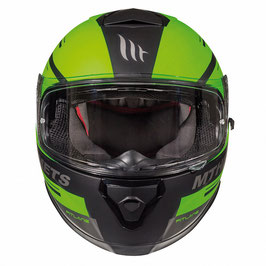 MT THUNDER 3 SV PITLANE MATT BLACK/GREEN