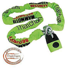 Mammoth LOC003 Lock & 12MM Chain