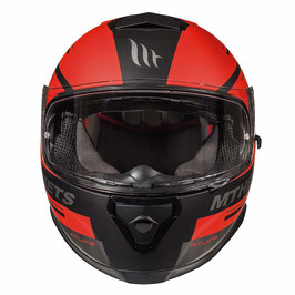 MT THUNDER 3 SV PITLANE MATT BLACK/RED