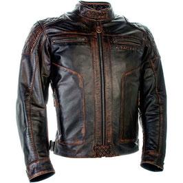 Richa Detroit Leather Jacket Brown