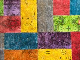 Patchwork multicolor 001