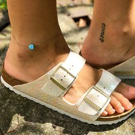 Fußkettchen Opal