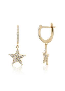 Ohrhänger Sparkle Star