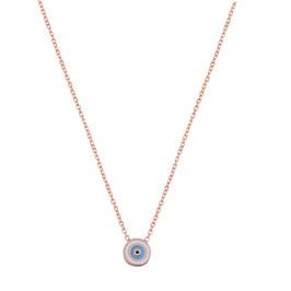 Halskette Nazar minimal rund