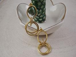 Ohrhänger Art Gold