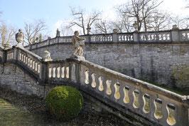 Treppenaufgang im Würzburger Residenzgarten