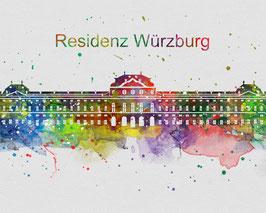 Würzburger Residenz Art Print