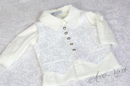 Elegante Weste in drei Farben mit passendem Hemd dazu