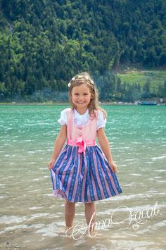 Kinderdirndl Heidi (aus Leinen)