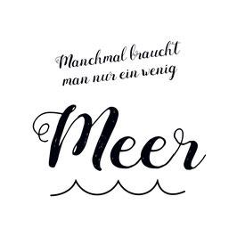 "Printquadrat - ""Manchmal … Meer"""