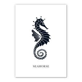 Print - Seahorse