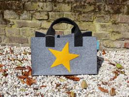 Einkaufskorb mit Stern (Korpus 4002/Henkel 8002/Seiten8002 Stern 7011)