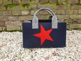 Einkaufskorb mit Stern (Korpus 5026/Henkel 4002/Seiten 4002 Stern 5019)