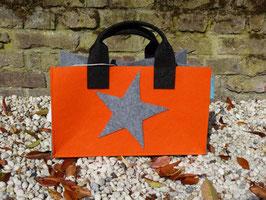 Einkaufskorb mit Stern (Korpus 4002+5013/Henkel 8002/Seiten4002 Stern 4002)