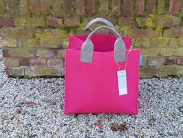 Aktentasche aus Filz pink(K5018-H4002-S5018)2H