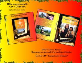 000 Offre exceptionnelle CD + DVD François des oiseaux