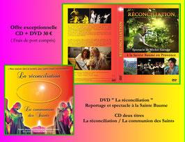 000 Offre exceptionnelle DVD + CD La Réconciliation