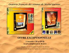 Offre exceptionnelle CD+DVD François des Oiseaux