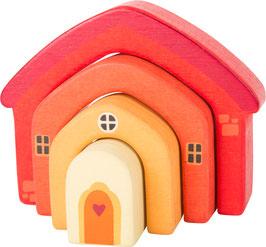 Haus Holzbausteine