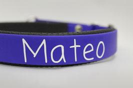 Biothane halsband 19mm incl. bedrukking